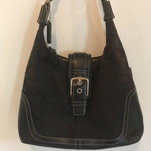 Genuine Black Coach purse